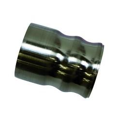 Windsor 25mm végkupak acél hatású