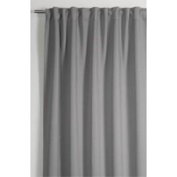 Kész függöny Fényzáró / Blackout szürke színben / mérete: 140 cm széles 245cm magas