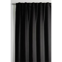 Kész függöny Fényzáró / Blackout fekete színben / mérete: 140 cm széles 245cm magas